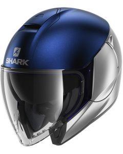 Shark Citycruiser Dual Matt Silver/Blue/Silver SBS