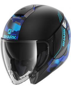 Shark Citycruiser Genom Matt Black/Blue/Blue KBB