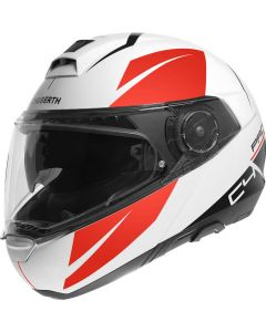 Schuberth C4 Pro Merak White/Red 231