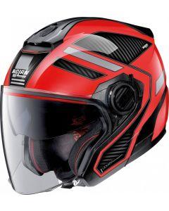 Nolan N40-5 Beltway N-Com Corsa Red/Black 22