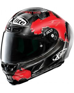 X-Lite X-803 RS ULTRA CARBON Replica C.Checa - Black 26