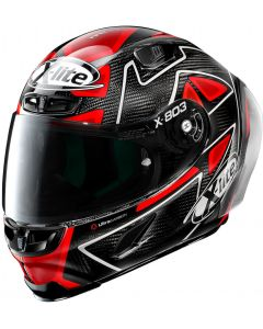 X-Lite X-803 RS ULTRA CARBON Replica D.Petrucci - Black/Red 27