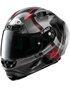 X-Lite X-803 RS ULTRA CARBON Tatanka Black/Grey/Red 39