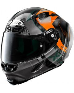 X-Lite X-803 RS ULTRA CARBON Tatanka Black/Grey/Orange 41