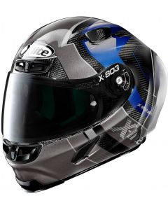 X-Lite X-803 RS ULTRA CARBON Tatanka Black/Grey/Blue 42