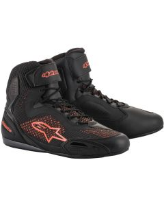 Alpinestars Faster-3 Rideknit Shoes Black/Red/Fluo 1030