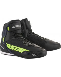Alpinestars Faster-3 Shoes Black/Yellow/Fluo/Blue 1570