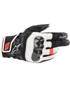 Alpinestars SMX Z Drystar Gloves Black/White/Red/Fluo 1231