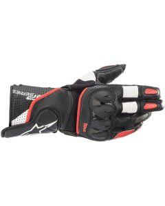 Alpinestars SP-2 V3 Gloves Black/White/Bright Red 1304