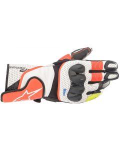 Alpinestars SP-2 V3 Gloves White/Red/Fluo/Black 2310