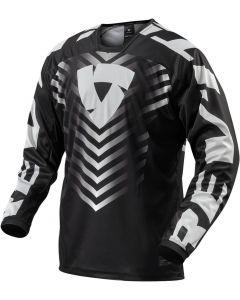 REV'IT Rough Shirt Black/White