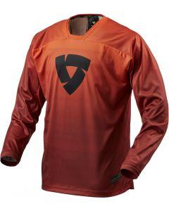 REV'IT Scramble Shirt Burgundian Red/Orange