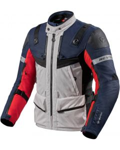 REV'IT Defender 3 GTX Jacket Red/Blue