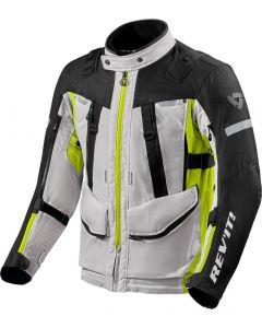 REV'IT Sand 4 H2O Jacket Silver/Neon Yellow