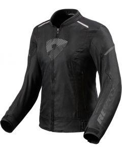 REV'IT Sprint H2O Ladies Jacket Black/Antracite
