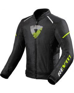 REV'IT Sprint H2O Jacket Black/Neon Yellow