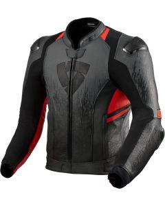 REV'IT Quantum 2 Jacket Antracite/Neon Red