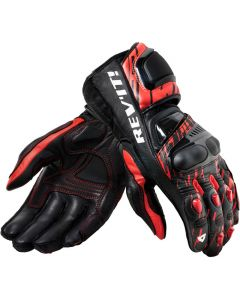 REV'IT Quantum 2 Gloves Neon Red/Black