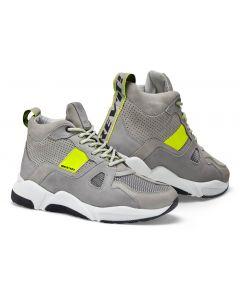 REV'IT Astro Shoes Light Grey/Neon Yellow