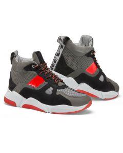 REV'IT Astro Shoes Black/Neon Red