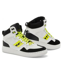 REV'IT Pacer Shoes White/Neon Yellow