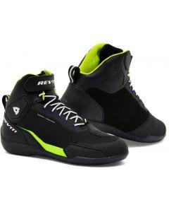 REV'IT G-Force H2O Shoes Black/Neon Yellow