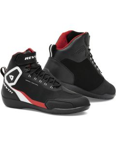 REV'IT G-Force H2O Shoes Black/Neon Red