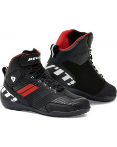 REV'IT G-Force Shoes Black/Neon Red