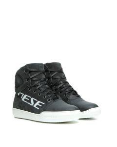 Dainese York Lady D-WP Shoes Dark Carbon/White 10D