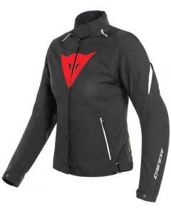 Dainese Laguna Seca 3 Lady D-Dry Jacket Black/Lava Red/White A77