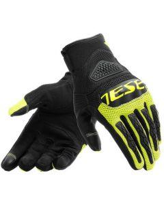 Dainese Bora Gloves Black/Fluo Yellow 620