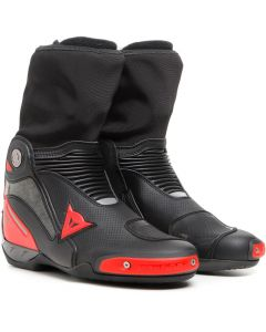 Dainese Axial Gore-Tex Boots Black/Lava Red B78