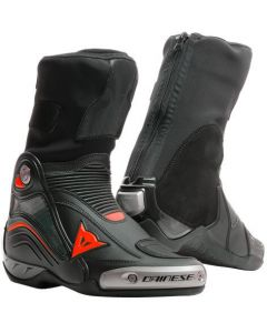 Dainese Axial D1 Boots Black/Red Fluo 628