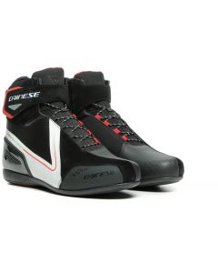 Dainese Energyca D-WP Shoes Black/White/Lava Red A66