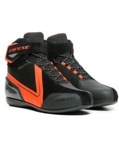Dainese Energyca D-WP Shoes Black/Fluo Red 628