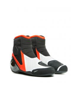 Dainese Dinamica Air Shoes Black/Fluo Red/White W12