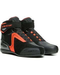 Dainese Energyca Air Shoes Black/Fluo Red 628