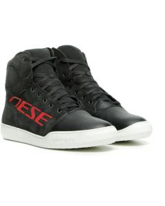 Dainese York D-WP Shoes Dark Carbon/Red 08D