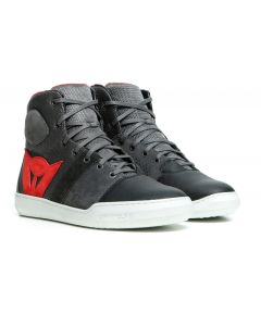 Dainese York Air Shoes Phantom/Red 06D