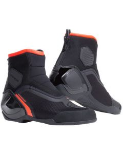 Dainese Dinamica D-WP Shoes Black/Fluo Red 628