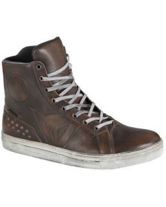 Dainese Street Rocker D-WP Shoes Dark Brown 005