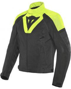 Dainese Levante Air Tex Jacket Black/Fluo Yellow/Black R17