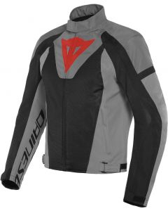 Dainese Levante Air Tex Jacket Black/Anthracite/Charcoal Gray 62F