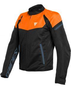 Dainese Bora Air Tex Jacket Flame Orange/Black Iris/Black 03E
