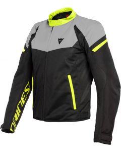 Dainese Bora Air Tex Jacket Black/Magnesio Matt/Fluo Yellow 02E