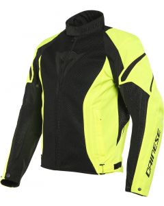 Dainese Air Crono 2 Tex Jacket Black/Fluo Yellow/Fluo Yellow Z18