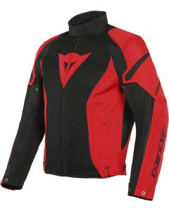Dainese Air Crono 2 Tex Jacket Black/Lava Red/Lava Red 77F