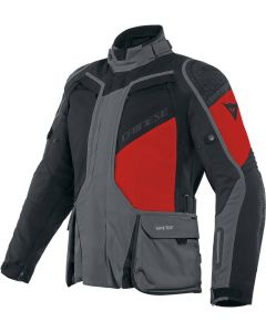Dainese D-Explorer 2 Gore-Tex Jacket Ebony/Black/Lava Red 80E