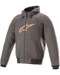 Alpinestars Chrome Sport Hoodie Tar Gray/Flame Orange 9144