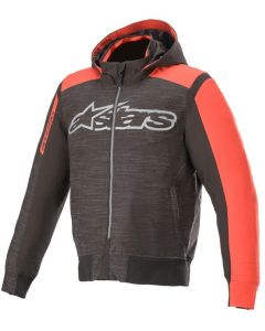 Alpinestars Rhod Windstopper Hoodie Black/Bright Red 1303